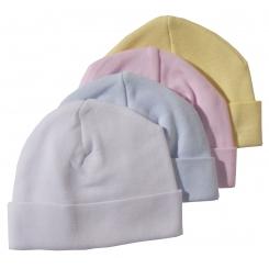 2-Ply Rib Knit Pastel Beanie Cap - 031PA