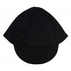 Interlock Solid Black Baseball Cap - 1122BL