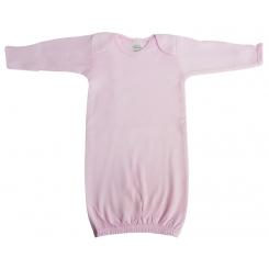White Interlock Infant Gown - 913