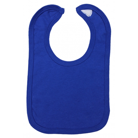 Interlock Solid Royal Blue Bib